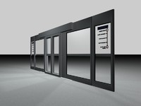 metro platform edge doors 3ds