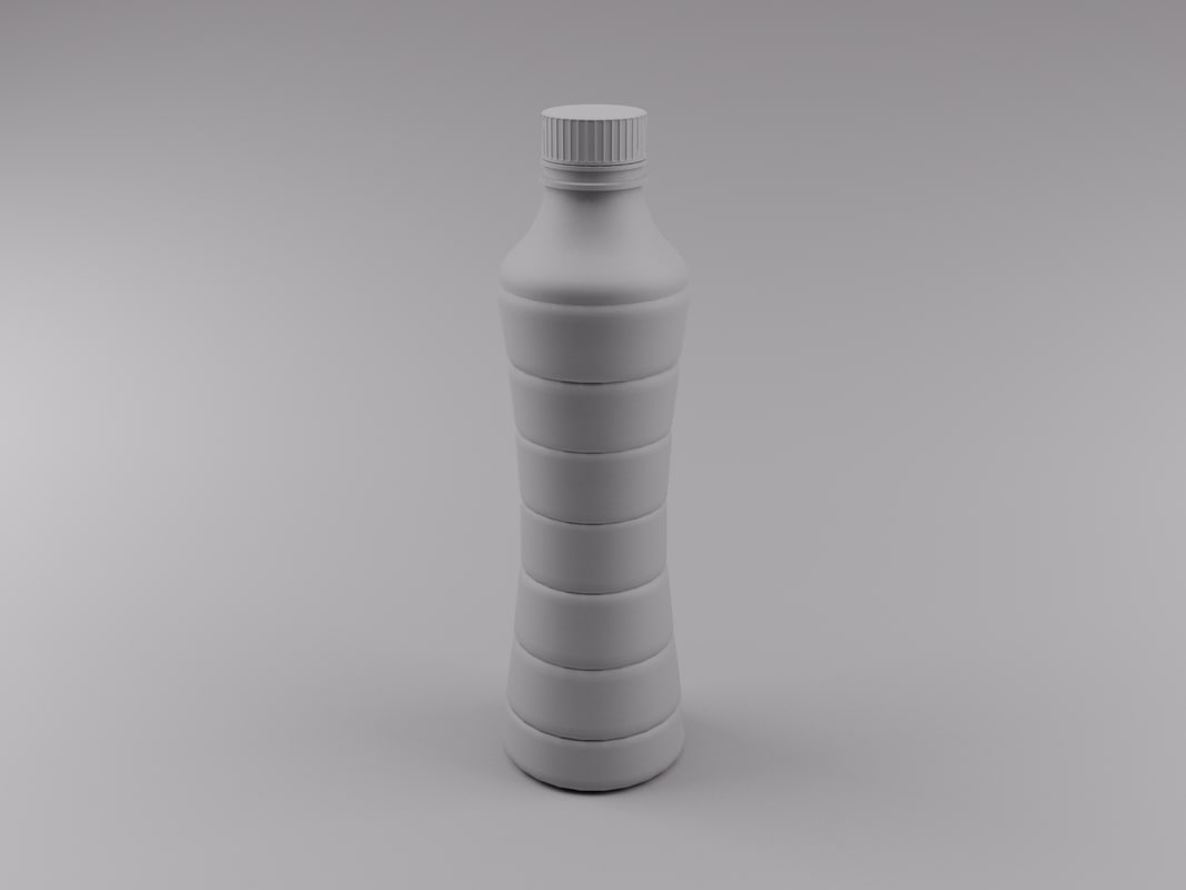 bottle 3d max