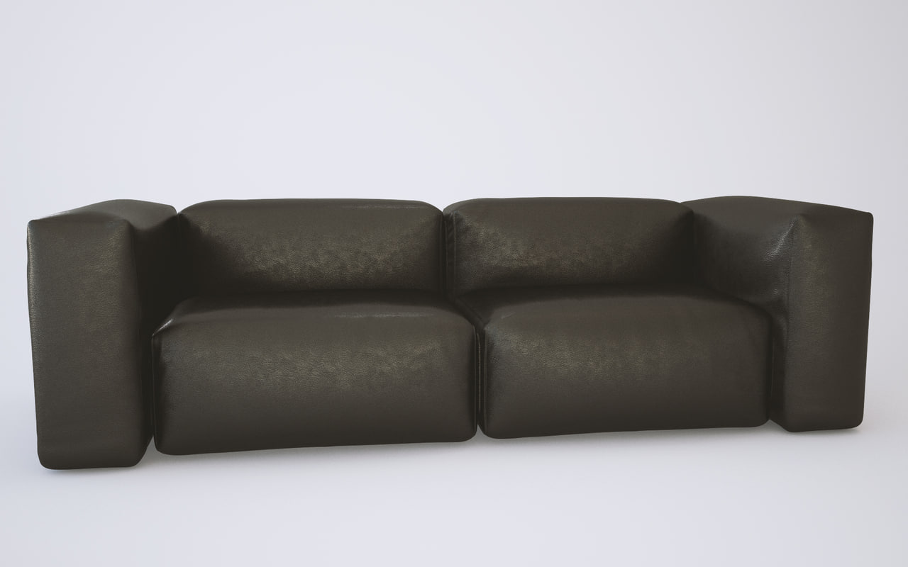 3d c4d couch sofa