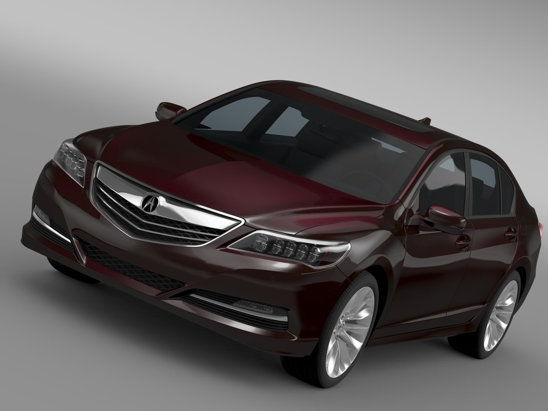 3d model acura rlx 2015