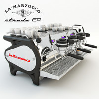 3ds max coffee machine lamarzocco strada