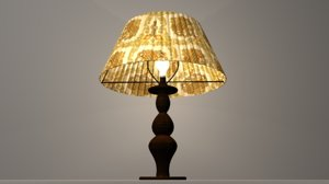 lamp bulb 3d model
