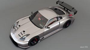 3d nissan 350z jgtc model