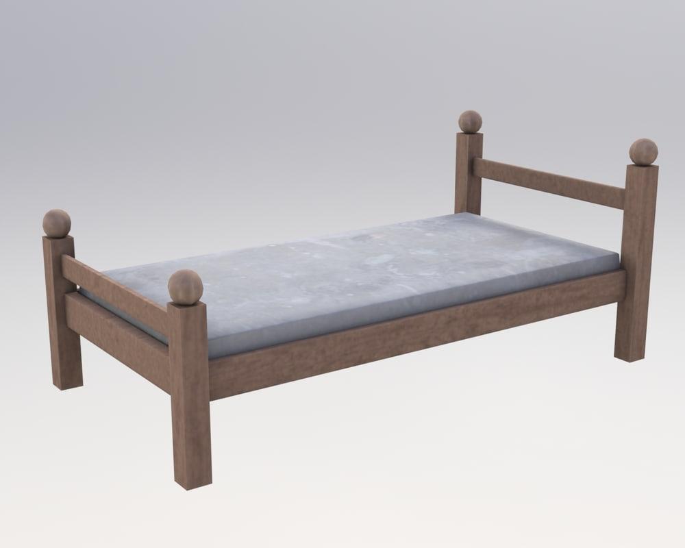 bed fbx