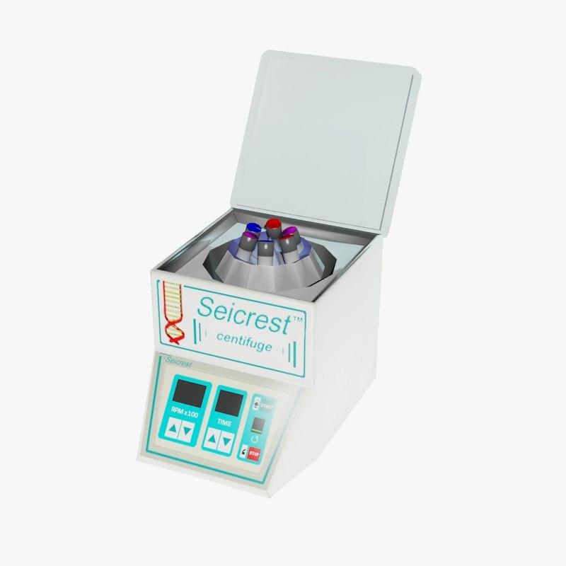 centrifuge 3d model