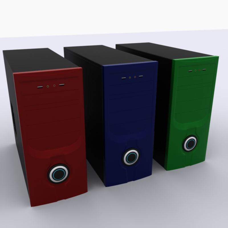 computer case 3ds