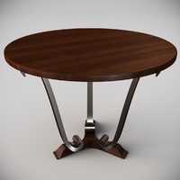navour table 3d max