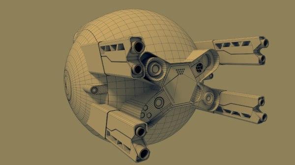 3ds max oblivion drone