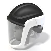 versaflo helmet 3d model