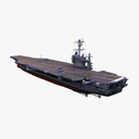USS Harry S Truman CVN-75 3D models