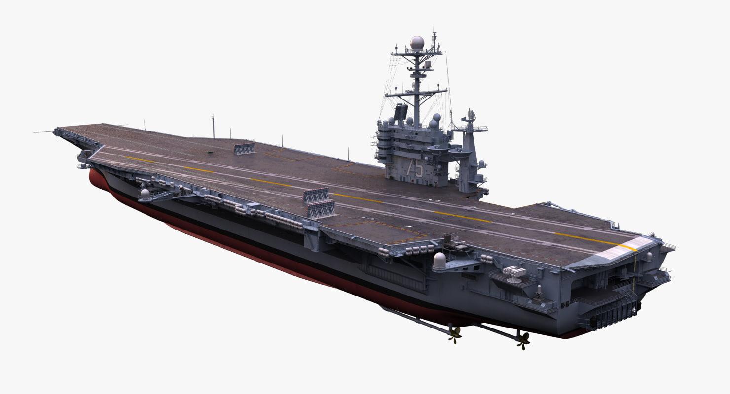 3d uss harry s aircraft carrier