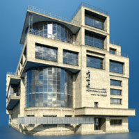workers club moscow 3d model