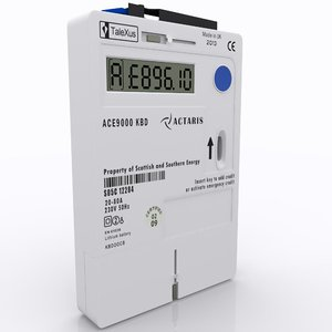 3ds max electric meter