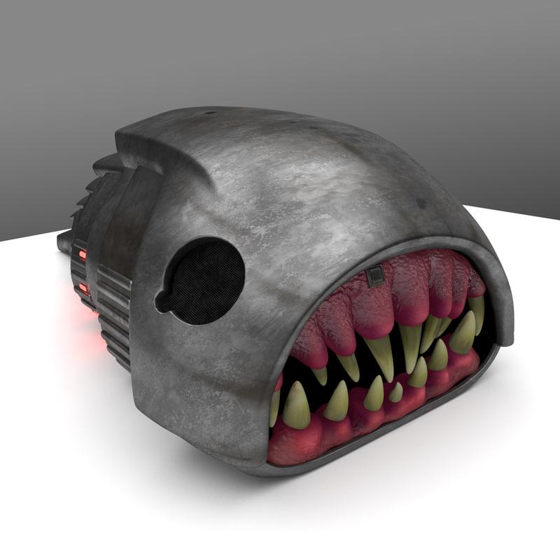 3d model cybermat doctor