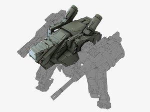 max body robot mech