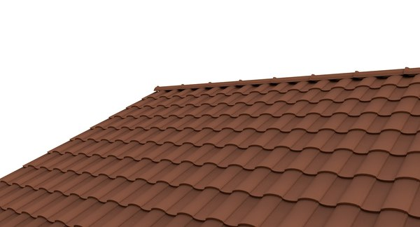 roof tile 2 3d model