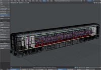 3d gner buffet coach updated model