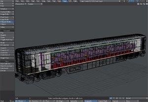 3d gner buffet coach updated model