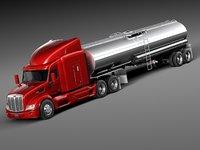 Peterbilt 579 Semi Truck Tanker 2012-2015