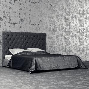 3d bonaldo bed