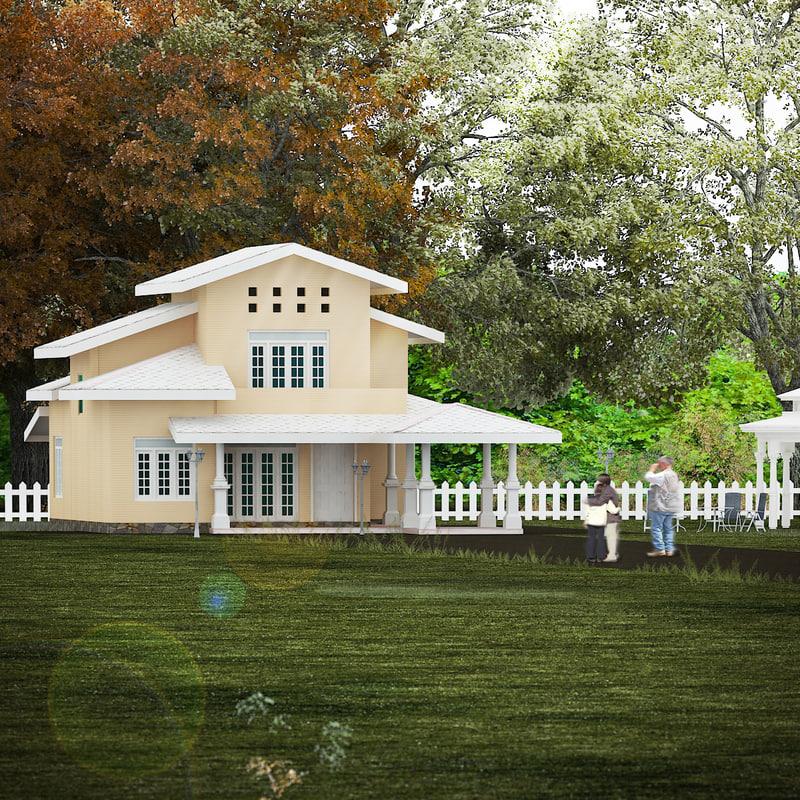 3d house homes model