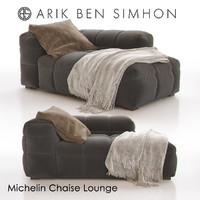 3d michelin chaise lounge arik