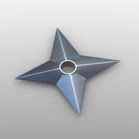 free shuriken v1 3d model