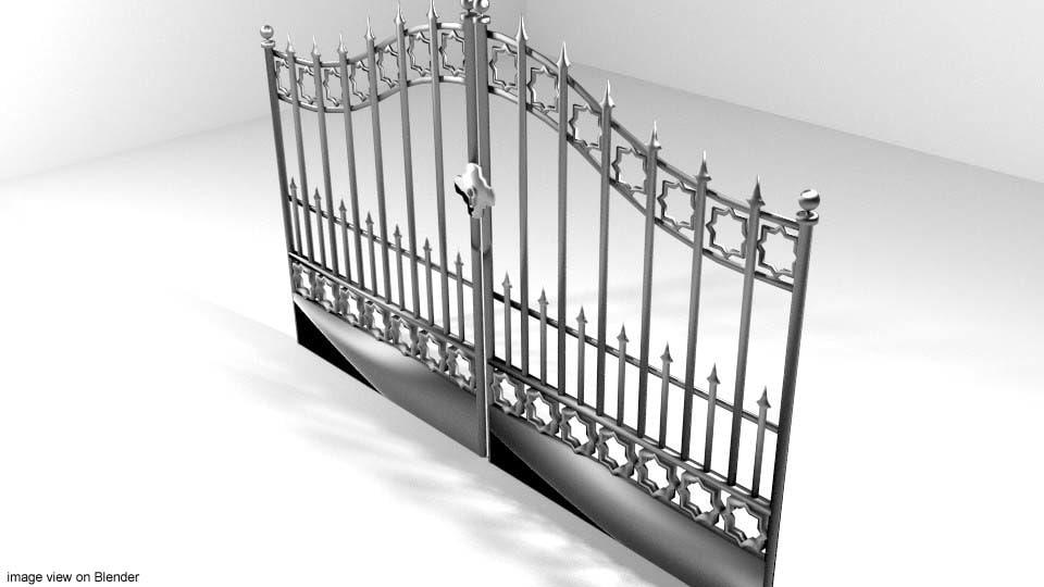 lwo steel gate l