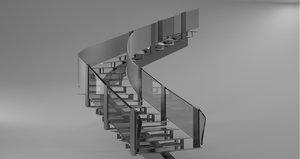3ds design stairway