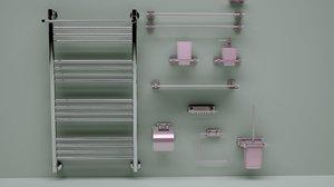 heated towel rail bath max