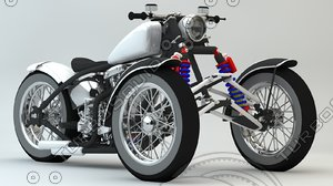3d bobber tricycle