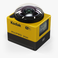 3d kodak pixpro sp360 model