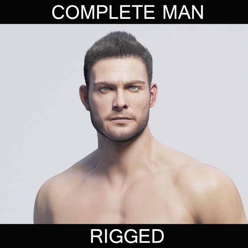 max athletic man character
