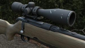3d savage 340 rifle scope