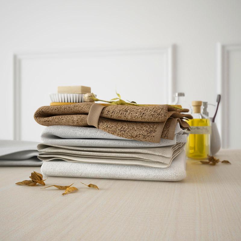 3d model towel soap