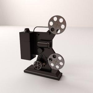 3d film projector