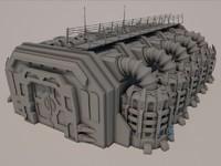 Sci-fi Building 1501