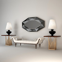 3d christopher guy modern set