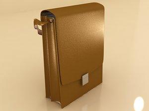 3d model business bag