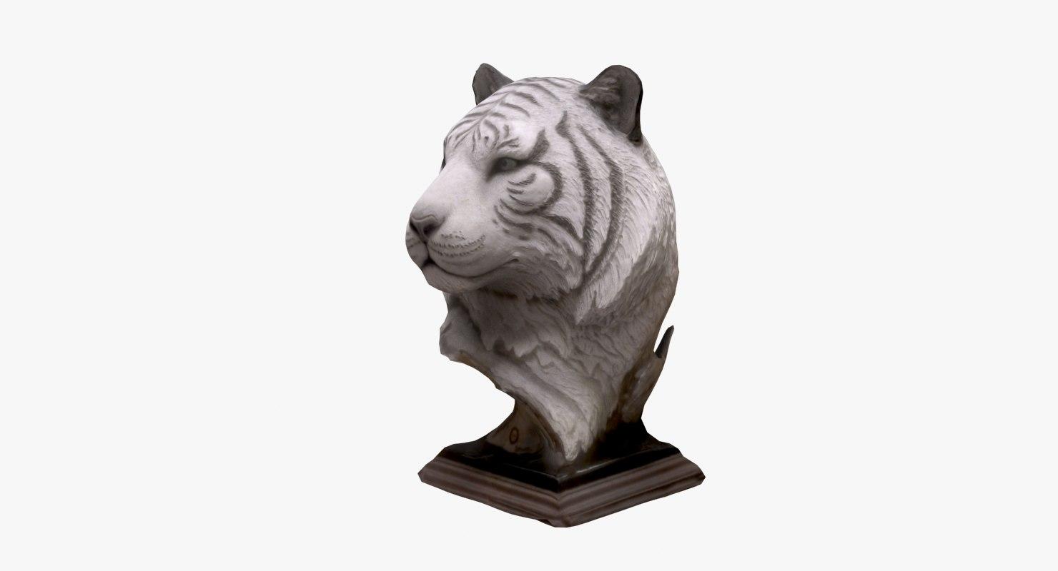 3d model sculpture statue statuette