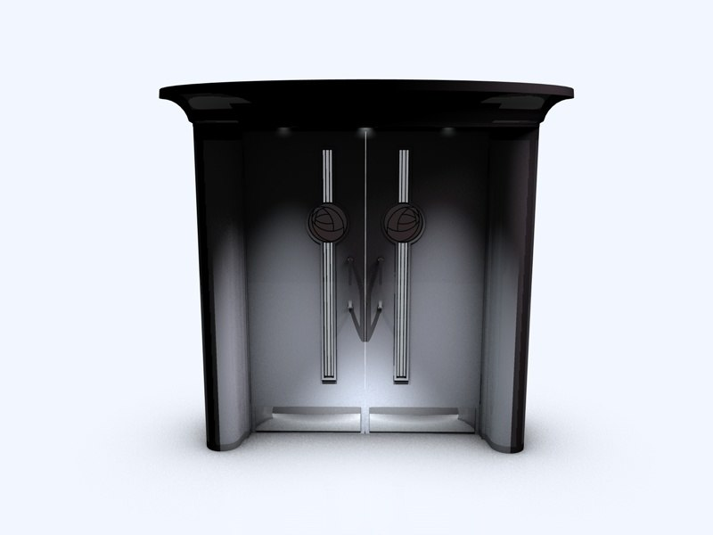 door mackintosh 3d model