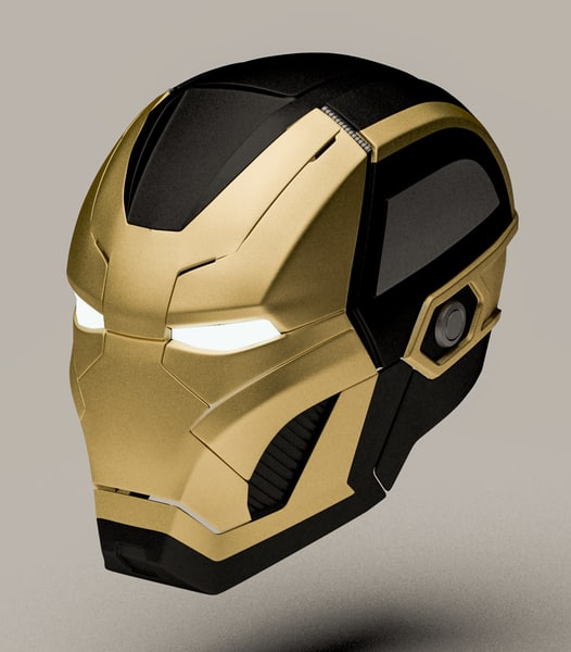 3d iron man mark 41 model