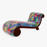 3d classic lounge snail model