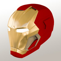 Iron Man Mark 45 Friday helmet