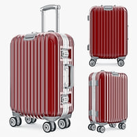 bag luggage travel kingtrip 3d max