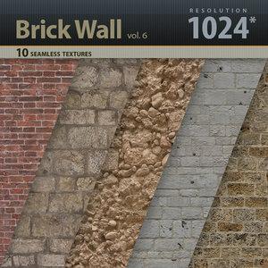 Brick Wall Textures vol.6