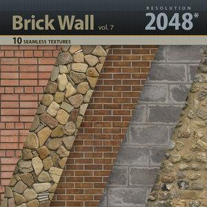 Brick Wall Textures vol.7