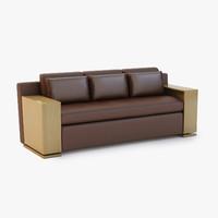 sofa modern lounge 3d 3ds