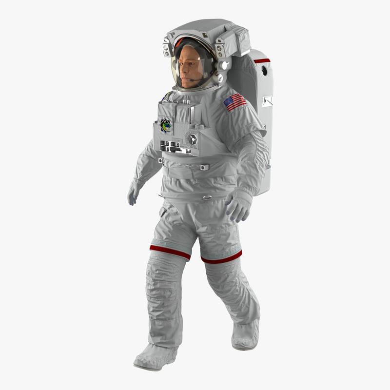 3d max astronaut nasa extravehicular mobility
