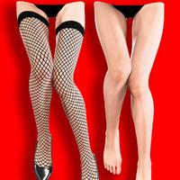 3d model female legs